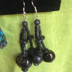 Vintage/retro pair of dangling earrings